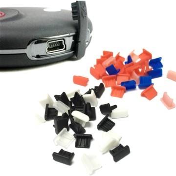 Mini USB Port Silicone Rubber Dust Cover