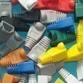 RJ45 Snagless Boot Silicone Rubber Dust Cover (10pcs/Unit)