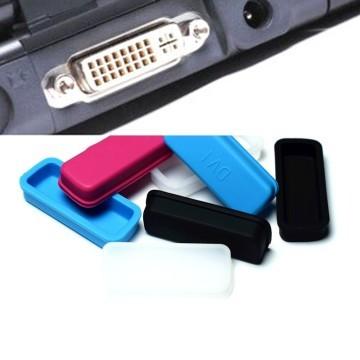 DVI Port Silicone Rubber Dust Cover