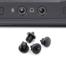 Audio Port Silicone Rubber Dust Cover