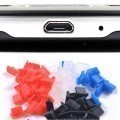 Micro USB Port Silicone Rubber Dust Cover