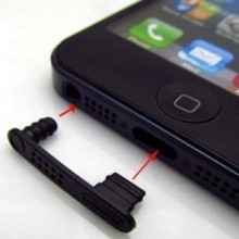 iPhone 5 Protective Silicone Rubber Dust Cover