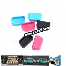 COM RS232 DB9 Port Silicone Rubber Dust Cover