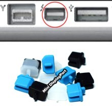 Mini DisplayPort Port Silicone Rubber Dust Cover