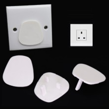 England UK AC Standard 2 Prong Wall Socket Protective Cover