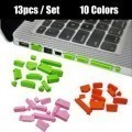 Anti Dust Port Protective Cover Set for Laptop (13pcs)